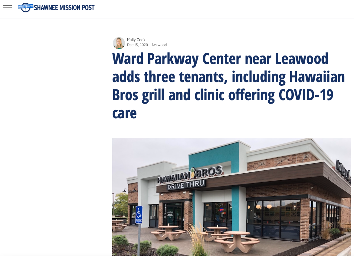 NEWS & EVENTS   Ward Parkway